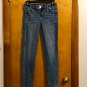 American Eagle Next Level Stretch Jegging Jeans 0